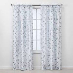 2pc Vines Light Filtering Window Curtain Panels